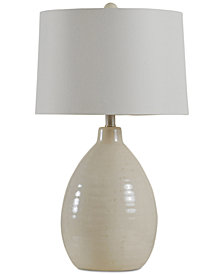 StyleCraft Gord Ceramic Table Lamp
