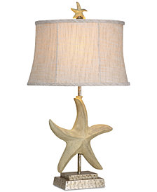 StyleCraft Starfish Table Lamp