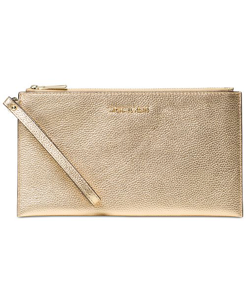 968620ccdfe383 Michael Kors Mercer Large Zip Clutch & Reviews - Handbags ...