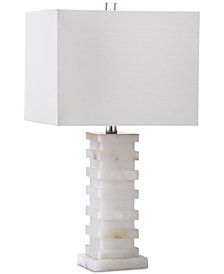 Safavieh Cinder White Marble Table Lamp