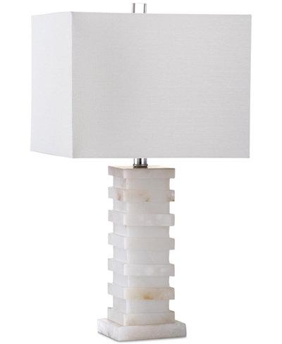 Safavieh Cinder White Marble Table Lamp
