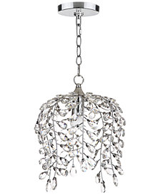 Safavieh Leafy Glass Crystal Pendant