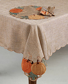 "Homewear Pumpkin Gardenia 60"" x 102"" Tablecloth"