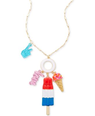Image of Celebrate Shop Popsicle Pendant Necklace