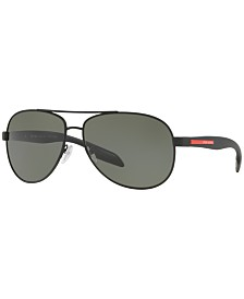 Prada Linea Rossa Polarized Sunglasses , PS 53PS