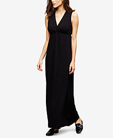 RIPE Nursing Maxi Dress