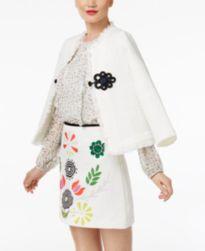 CR By Cynthia Rowley Fringed Jacket & Mini Skirt, Created for Macy's