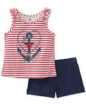 Kids Headquarters 2-Pc. Tank Top & Shorts Set, Toddler Girls (2T-4T)