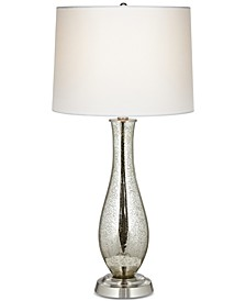Pacific Coast Antique Mercury Glass Table Lamp