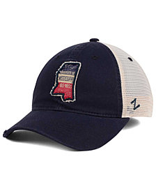 Zephyr Ole Miss Rebels Roadtrip Patch Mesh Cap