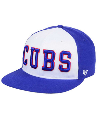'47 Brand Chicago Cubs Script Side Snapback Cap
