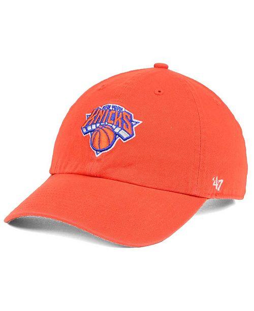 '47 Brand New York Knicks Clean Up Cap
