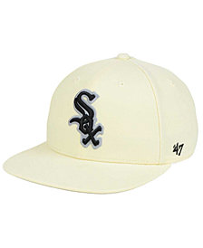 '47 Brand Chicago White Sox Natural No Shot Snapback Cap