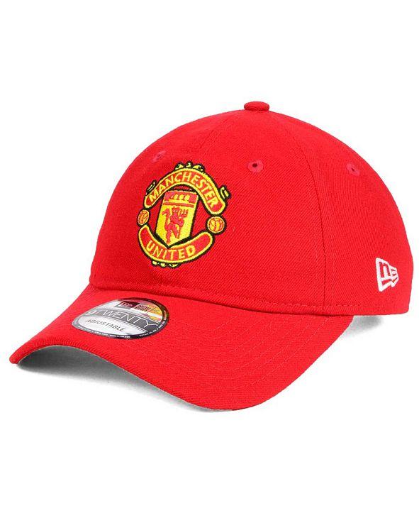New Era Manchester United EPL Basic 9TWENTY Strapback Cap