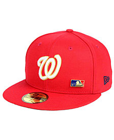 New Era Washington Nationals Metal Man 59FIFTY Cap