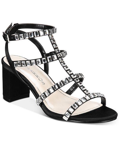 67d2989b7 Caparros Insync Block-Heel Evening Sandals   Reviews - Sandals ...