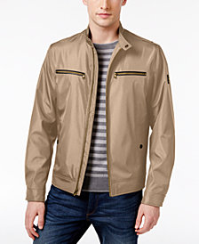 Michael Kors Men's Big & Tall Lightweight Four-Pocket Windbreaker