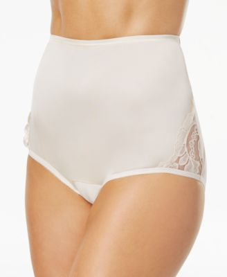 Image of Vanity Fair Perfectly Yours Lace Nouveau Nylon Brief 13001