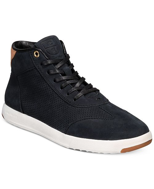 3f79000dc7cc Cole Haan Women s Grand Pro High-Top Sneakers   Reviews ...
