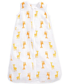 Baby Boys & Girls Giraffe-Print Cotton Sleeping Bag