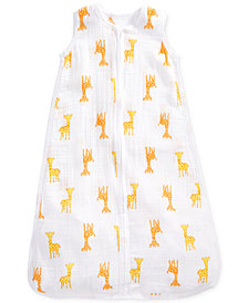 aden by aden + anais Giraffe-Print Cotton Sleeping Bag, Baby Boys & Girls