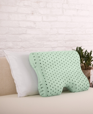 Closeout! Authentic Comfort Green Tea Memory Foam Contour Pillow