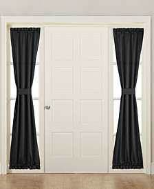 "Sun Zero Grant Room Darkening 26"" x 72"" Sidelight Curtain Panel"