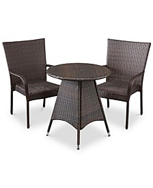 Chiese 3-Pc. Bistro Set