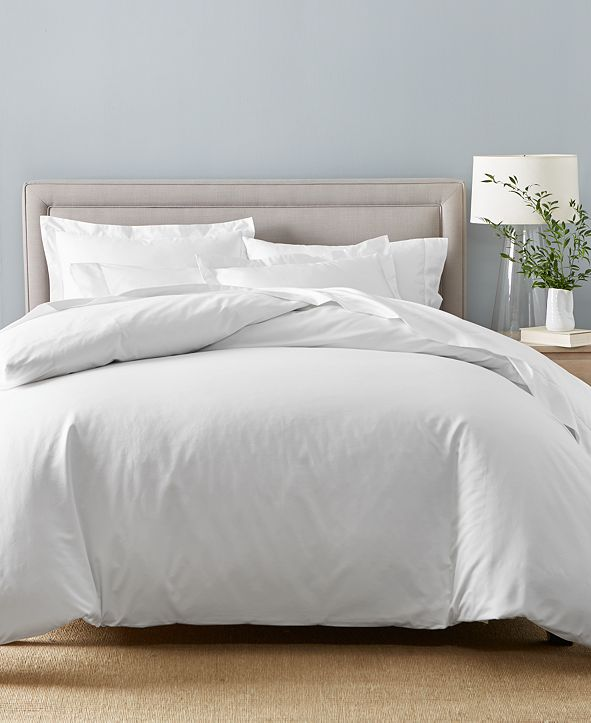 Charter Club Cotton 550-Thread Count 7-Pc. Queen Bedding Set, Created for Macy's