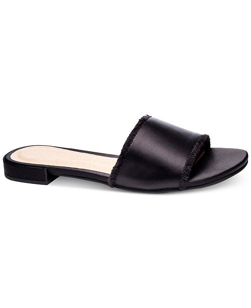 6c347ae54 Chinese Laundry Pretty Slip-On Flat Sandals   Reviews - Sandals ...