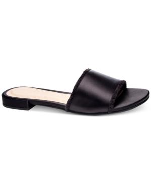 Chinese Laundry Pretty Slip-On Flat Sandals Women