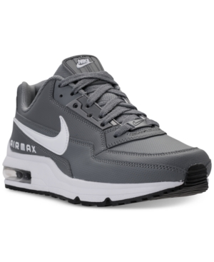 Nike Men S Air Max Ltd 3 Running Sneakers From Finish Line In Cool Grey  White 4ffed8894