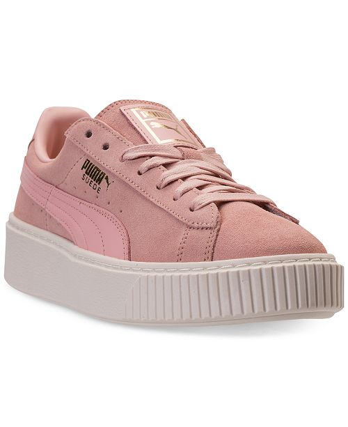 ... Puma Women s Suede Platform Core Casual Sneakers from Finish ... 0bb1c7e6a