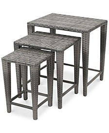 Aldin Nested Tables (Set Of 3), Quick Ship