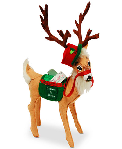 Annalee Special Delivery Reindeer Festive Figurine