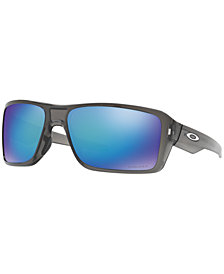 Oakley Polarized Double Edge Sunglasses, OO9380 66