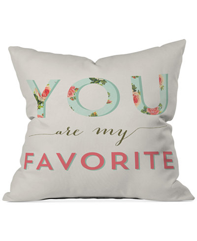 Deny Designs Allyson Johnson Floral You Are My Favorite 16