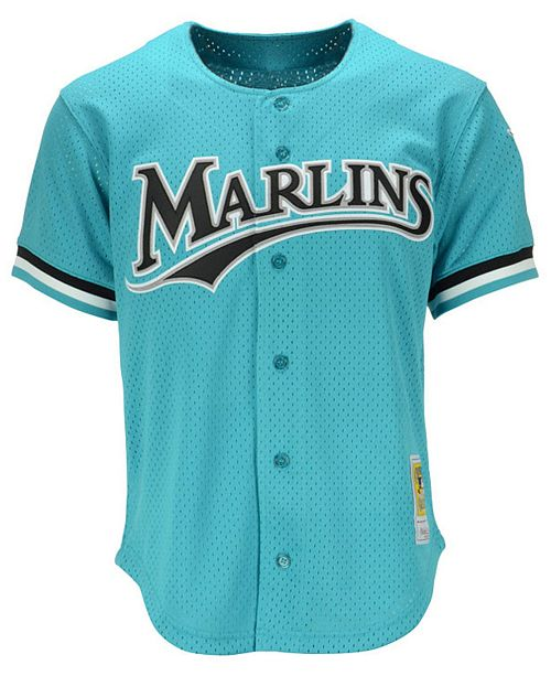 separation shoes 454c9 6d592 miami marlins teal jersey