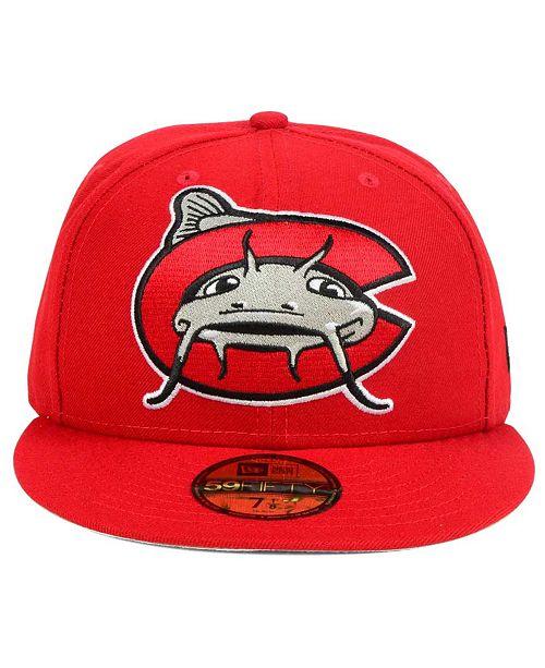 super popular d61d3 1f38a ... New Era Carolina Mudcats MiLB Logo Grand 59FIFTY Cap ...