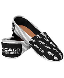 Forever Collectibles Chicago White Sox Canvas Logo Shoe
