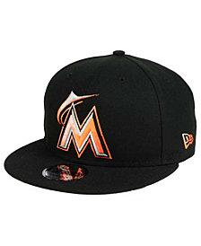 New Era Miami Marlins Color Dim 9FIFTY Snapback Cap