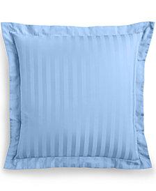 Charter Club Damask Stripe European Sham, 100% Supima Cotton 550 Thread Count , Created for Macy's