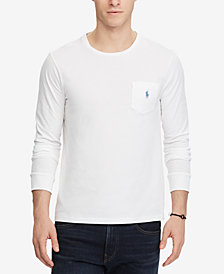 Polo Ralph Lauren Men's Custom Slim Fit Long-Sleeve T-Shirt