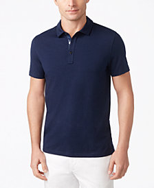 Michael Kors Men's Pima Cotton Bryant Stretch Polo
