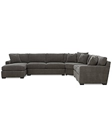 Radley 5-Piece Fabric Chaise Sectional Sofa, Created for Macy's