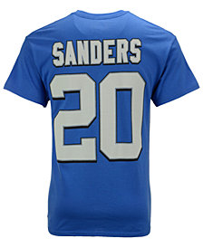 Majestic Men's Barry Sanders Detroit Tigers HOF Eligible Receiver T-Shirt