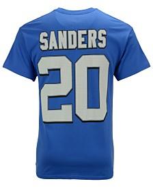 Majestic Men's Barry Sanders Detroit Tigers HOF Eligible Receiver T-Shirt