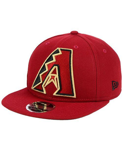 f744f333a3a New Era. Arizona Diamondbacks Logo Grand 9FIFTY Snapback Cap. Be the first  to Write a Review. main image ...