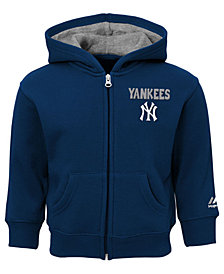 Majestic New York Yankees Inside the Park Full-Zip Hoodie, Toddler Boys (2T-4T)