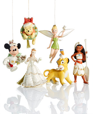 Lenox Christmas Disney Ornament Collection Holiday Lane